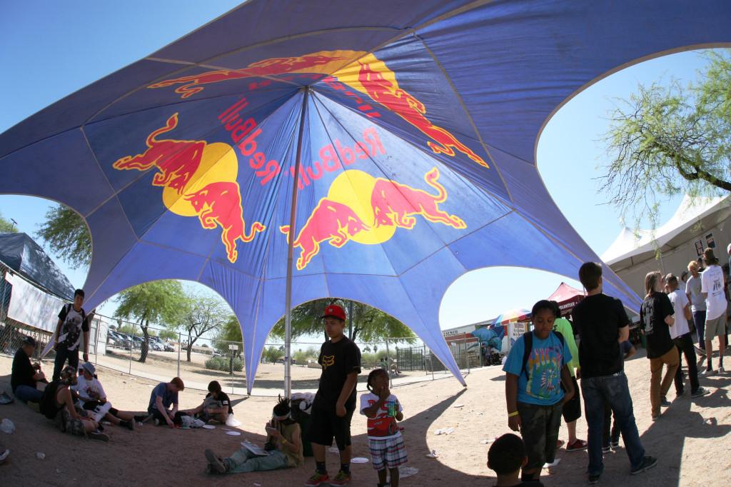 Redbull Tent
