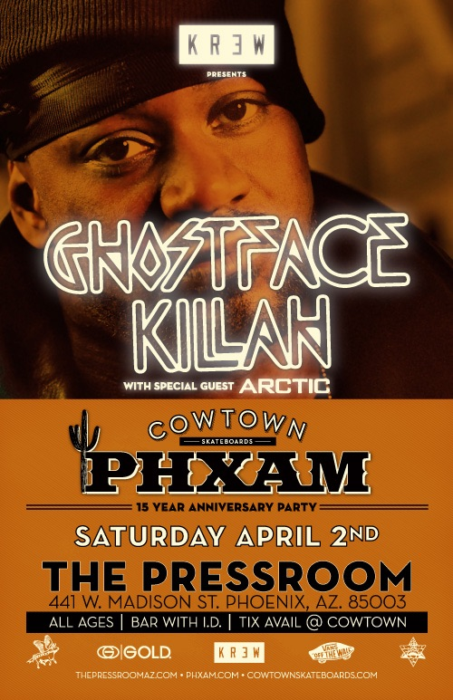 Ghostface flyer 500