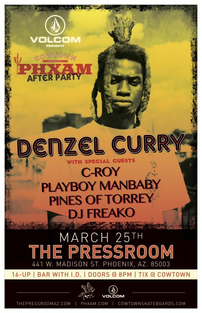 Denzel Curry-After Party Poster 11x17